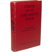 Poems for the Children's Hour, 500+ Poems, 1945, Famous Authors