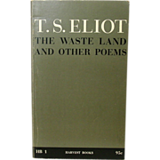 T. S. Eliot - The Waste Land and Other Poems -1962