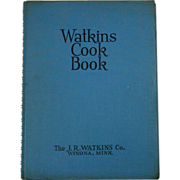 Watkins Cook Book, 1938 Edition, Recipes, Illustrated, Watkins Ads