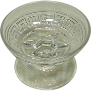 A. H. Heisey & Co., Grecian Border, Almond Dish, Individual, Straight
