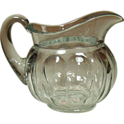 A. H. Heisey & Co., Colonial, Clear Panel, Water PItcher, half-gallon