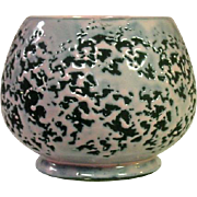 McCoy USA, 1956, Brocade Line, Planter Bowl, Pink and Black