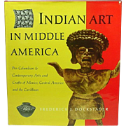 Indian Art in Middle America, Tipped in Full-Color Plates, 1964, Author Signed