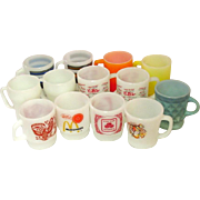 Fire King Mugs, C.B.er, McDonalds, Esso Tiger, State Farm, Kimberley, Striped Stacker, more