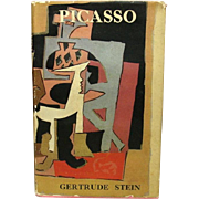 Picasso, by Gertrude Stein, 1939, Charles Scribner's Sons, Printed in London