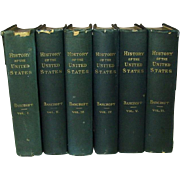 History of the United States from the Discovery of the Continent, Six Volumes, 1883, Revised