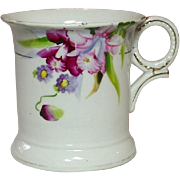 Noritake China, Shaving Mug, Handpainted Florals, Made in Japan