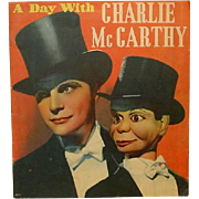 A Day with Charlie McCarthy and Edgar Bergen, by Eleanor Packer, 1938 ~ Illustrated, Starlets, Dancers, The Studio