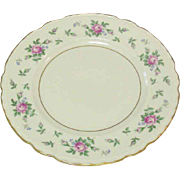 Princess China, TruTone USA, Sweet Briar Pattern, Salad Plate, Mid 20th Century