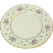 Princess China, TruTone USA, Sweet Briar Pattern, Bread Plate, Mid 20th Century