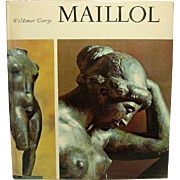 Aristide Maillol, by Waldemar George and Dina Vierny, 1965, London ~ Tipped in Color Plates