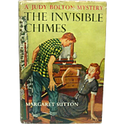 The Invisible Chimes: A Judy Bolton Mystery, Margaret Sutton, Grosset & Dunlap, 1952 (1932)