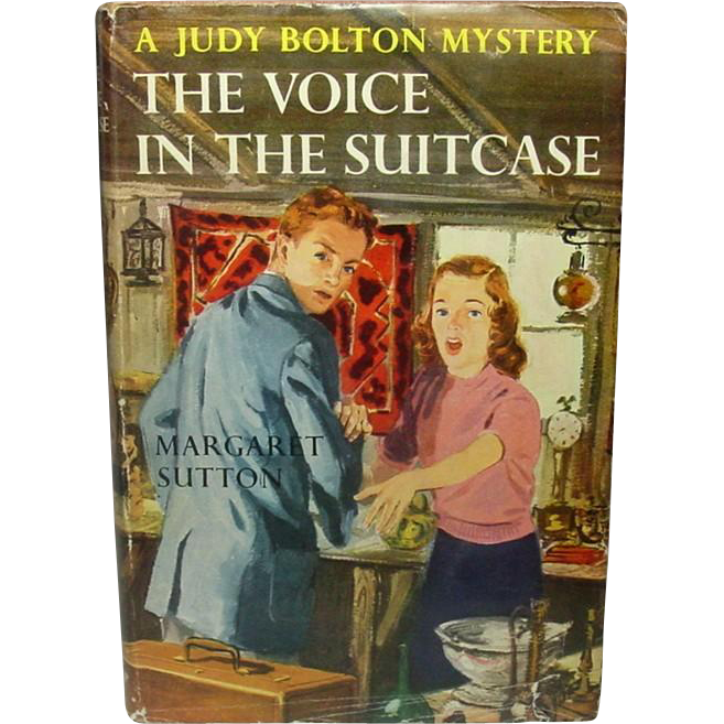 The Voice in the Suitcase: A Judy Bolton Mystery, Margaret Sutton, 1949 (1932) ~ Eighth in Series
