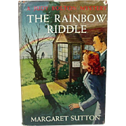 The Rainbow Riddle: A Judy Bolton Mystery, by Margaret Sutton, 1953 (1946) ~ 17th in Series