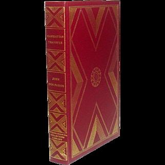 Manhattan Transfer, by John Dos Passos, International Collectors Library