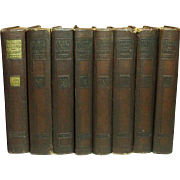 Beacon Lights of History, 8 volumes, John Lord, Wm. Wise Co., 1920
