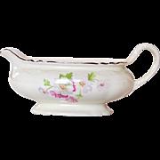 Homer Laughlin China ~ Virginia Rose ~ Fluffy Rose #1 ~ Gravy Boat