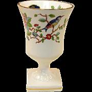 Aynsley English Fine Bone China ~ Mini Vase ~ Pembroke Pattern