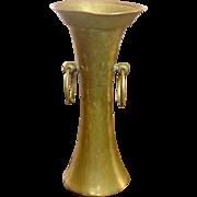 Pre-Revolutionary Russian ~  Arts and Crafts ~ Brass & Copper Vase