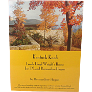Kentucky Knob, Frank Lloyd Wright's House ~ Bernardine Hagan ~ Signed ~ Illustrated