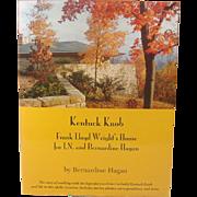 Kentucky Knob, Frank Lloyd Wright's House ~ Bernardine Hagan ~ Signed ~ Illustrated