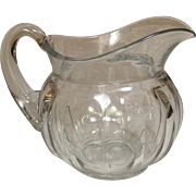 A. H. Heisey & Co. ~ Colonial Pattern ~ Clear Panel, ~ Water PItcher ~ Half-Gallon ~ Circa 1915