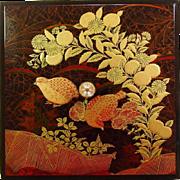 Hand Crafted and Decorated Trinket Box ~ Japan ~ Otagiri Original ~ 1950's
