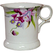 Noritake China, ~ Shaving Mug ~ Handpainted Florals ~ Made in Japan Mark