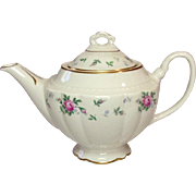 Princess China ~ TruTone USA ~ Sweet Briar Pattern ~ Tea Pot ~ Mid 20th Century