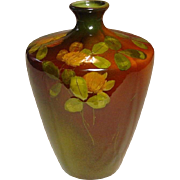 Rookwood Pottery Vase ~ Olga Geneva Reed ~ Standard Glaze, Slip Decorated ~ 1893