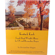 Kentuck Knob, Frank Lloyd Wright's House ~ Bernardine Hagan ~ Illustrated ~ Signed!