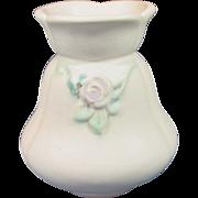 "Weller Pottery ~ Bouquet Drape Vase ~ 5 1/2"" ~ Matte White"