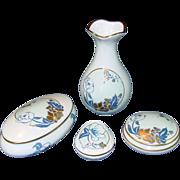 Limoges Castel France ~ Hummelwerk ~ Porcelain Dresser Set