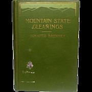 Mountain States Gleanings ~ Ignatius Brennan ~ 1911, First Edition ~ Richard G. Badger, The Gorham Press, Boston ~ Poetry