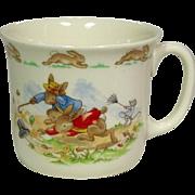 Royal Doulton Tableware Ltd. ~ English Fine Bone China ~ Bunnykins ~ Windy Hug-A-Mug