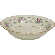 Princess China ~ TruTone USA ~ Sweet Briar Pattern ~ Berry / Dessert Bowl ~ Mid 20th Century