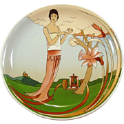 Bauscher Weiden Porcelain ~ Bavaria, Germany ~ Limited Edition Charger / Round Platter ~ for St. Regis Sheraton ~ Art Deco Design