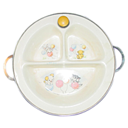 Excello Baby Food Warmer / Serving Dish - Cute Decoration