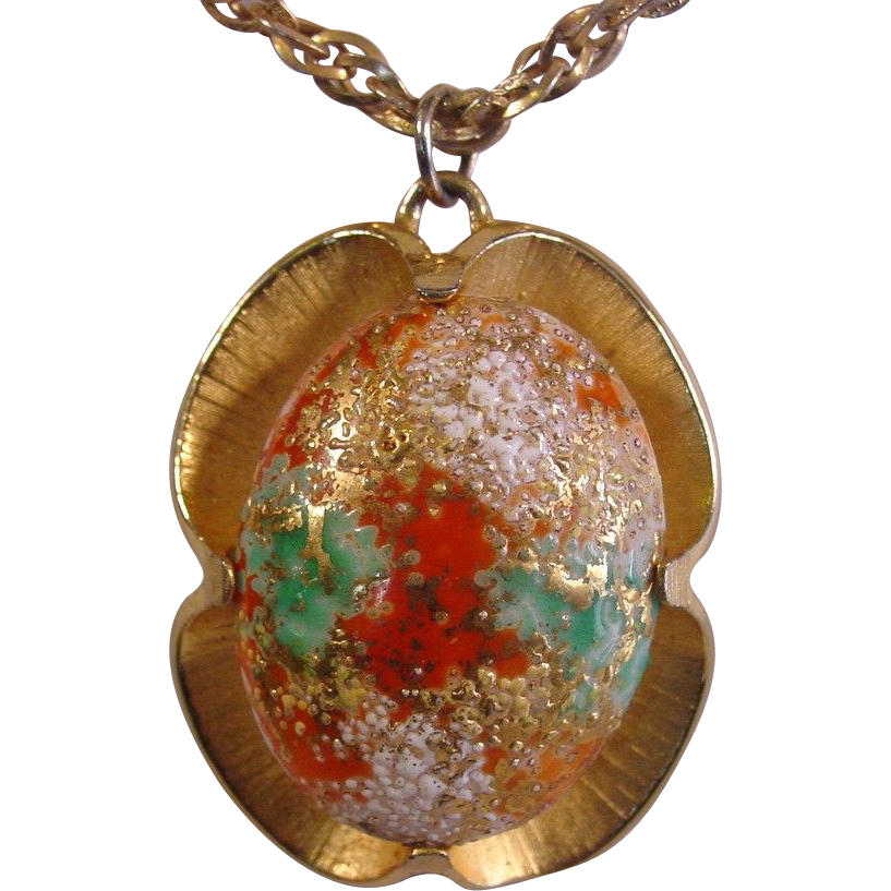 Judy Lee ~ Bold Pendant Necklace