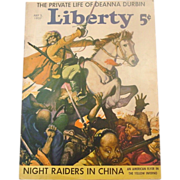 Liberty Magazine ~ July 3, 1937 ~ Short Stories,Quaint Ads, Great Illustration