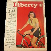 Liberty Magazine ~ September18, 1937 ~ Short Stories,Quaint Ads, Great Illustrations
