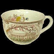 Transfer-ware Cups ~ Brown & Richie Ltd. ~ Jefferson Memorial ~ Six