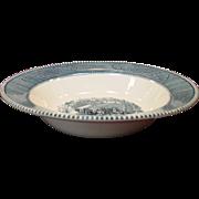"Royal China ~ Currier & Ives ~ 9"" Vegetable Serving Bowls"
