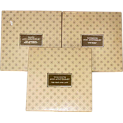 Avon Representative Anniversary Plates ~ Tenth, Fifteenth, Twentieth