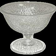 Crackle Pattern ~ Sherbets ~ Crystal ~ Various Makers, Circa 1924