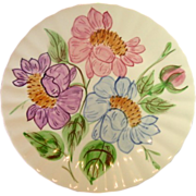 Blue Ridge Southern Potteries, Inc., Colorful Floral Dinner Plates