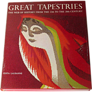 Great Tapestries: The Web of History, Jobe and Oberson, Scarce