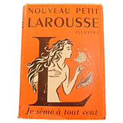 Nouveau Petit Larousse, Illustre, 1955, in French, Illustrated