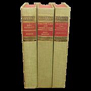 Classics Club Library, 3 Volumes, Homer, Milton, Aristotle