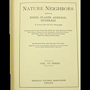 Nature Neighbors, Vol. IV - Birds, 1914, Audubon Assoc., Illustrated